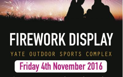 Fire works Display 4th November!