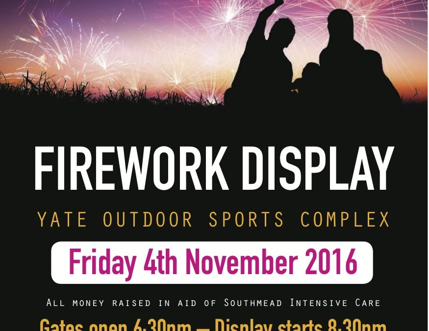 Fire works Display 4th November!