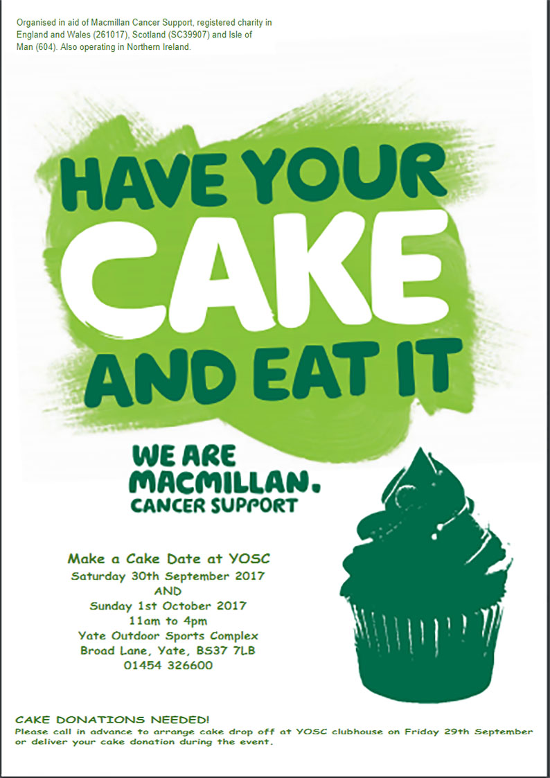 macmillan cake & coffee