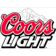 Coors Light % ABV 4.0